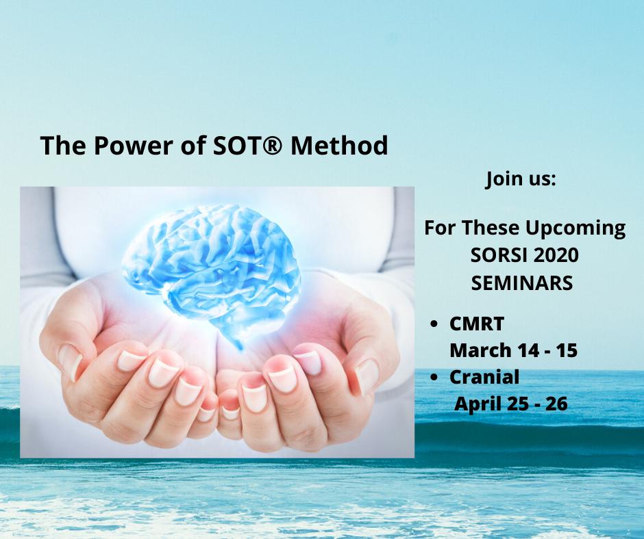 SORSI CMRT SOT® Method Seminars @ Palmer Davenport SOT® Club